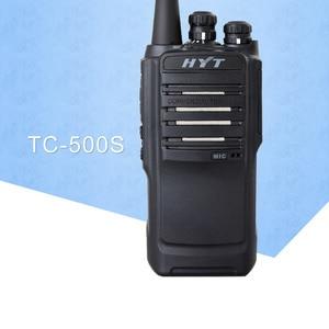 Image 1 - לhyt רדיו HYT TC 500S שתי דרך רדיו UHF 450 470MHz VHF 136 154MHz ווקי טוקי עמיד למים Dustproof נייד כף יד רדיו