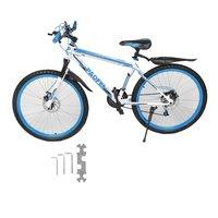 26 Polegada X 17 Polegada Disco Dianteiro E Traseiro Da Bicicleta 30 Círculo Mountain Bike de Velocidade Variável MTB Estrada Corrida de Bicicleta alta Qualidade