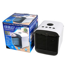 2019 Baru Portable Mini Air Conditioner Fan Ruang Pribadi Cooler Usb Fan Penguapan Aroma Portable Humidifikasi Desktop Fan(China)