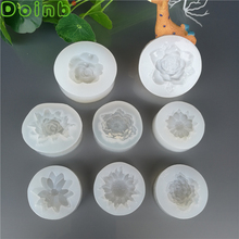 Rose Flower Daisy Soft Silicone Molds Fondant Chocolate Cake Decorating Tool Clay Fimo Wax Epoxy Resin Mold for Jewelry