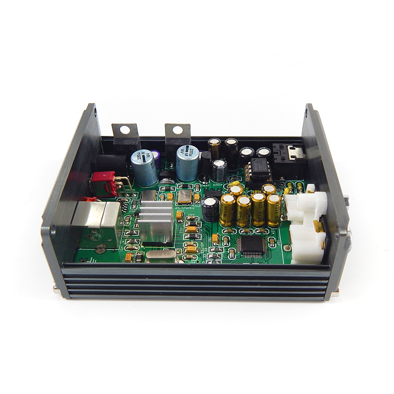 hifi mp3 decoder XMOS U8 + AK4490 AMP NE5532 USB DAC board Headphone Output Support for PCM 192kHz-in Digital-to-Analog Converter from Consumer Electronics    3