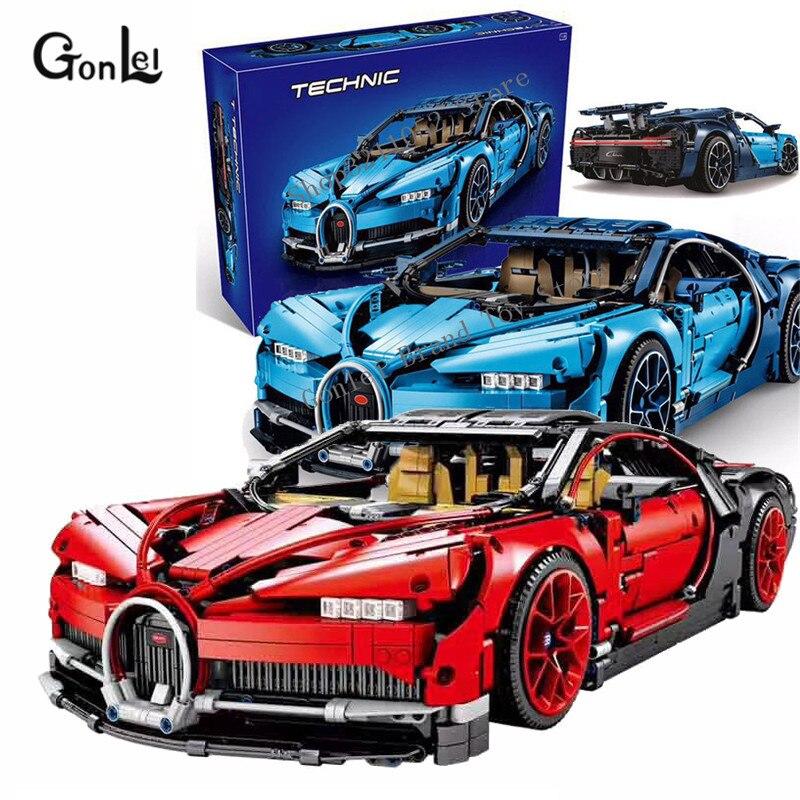 NEW Technic Series race car 20086B 23002 Bugatti Blue Chiron Brick 42083 MOC-4789 model Building block Christmas gifts new technic series race car 20086b 23002 bugatti blue chiron brick 42083 moc 4789 model building block christmas gifts