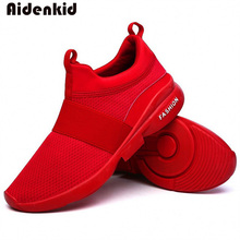 Aidenkid 2019 new fashion classic womens shoes mens comfortable breathable non-leather casual light