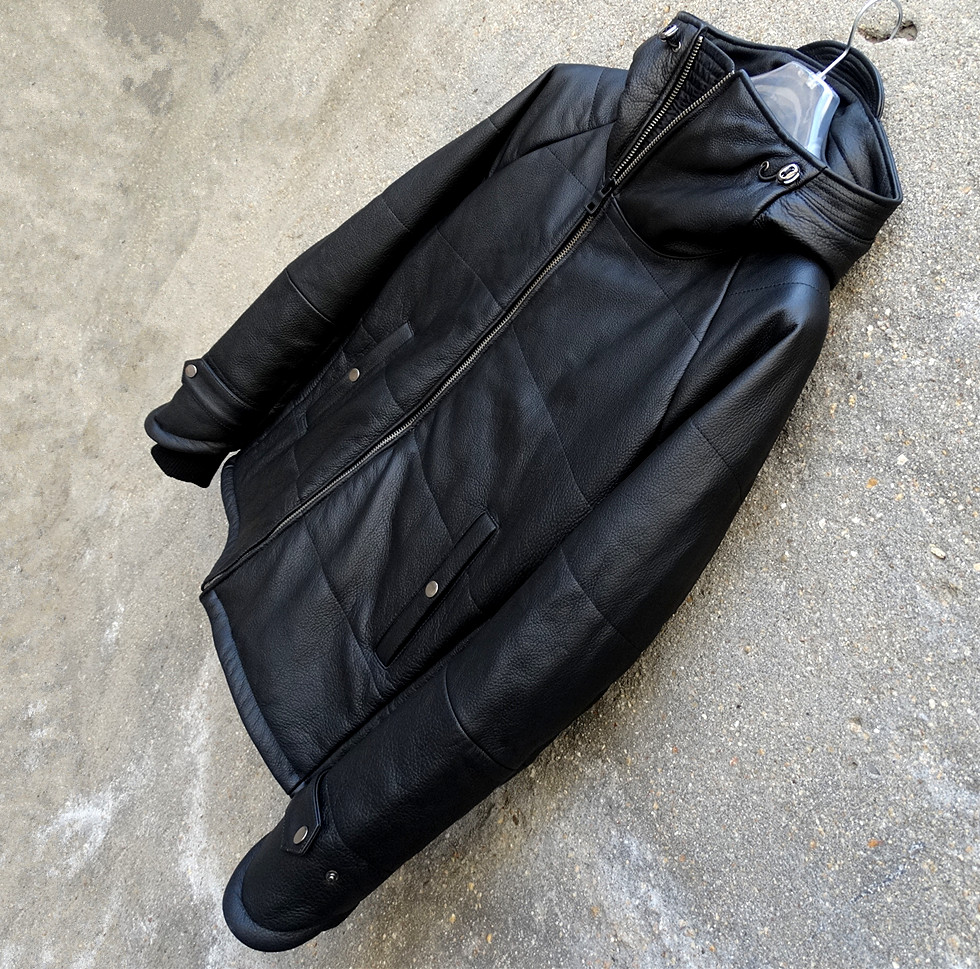 Free shipping.fashion classic winter warm cow leather jackets,men's genuine leather jacket,thinker clothing.Brand