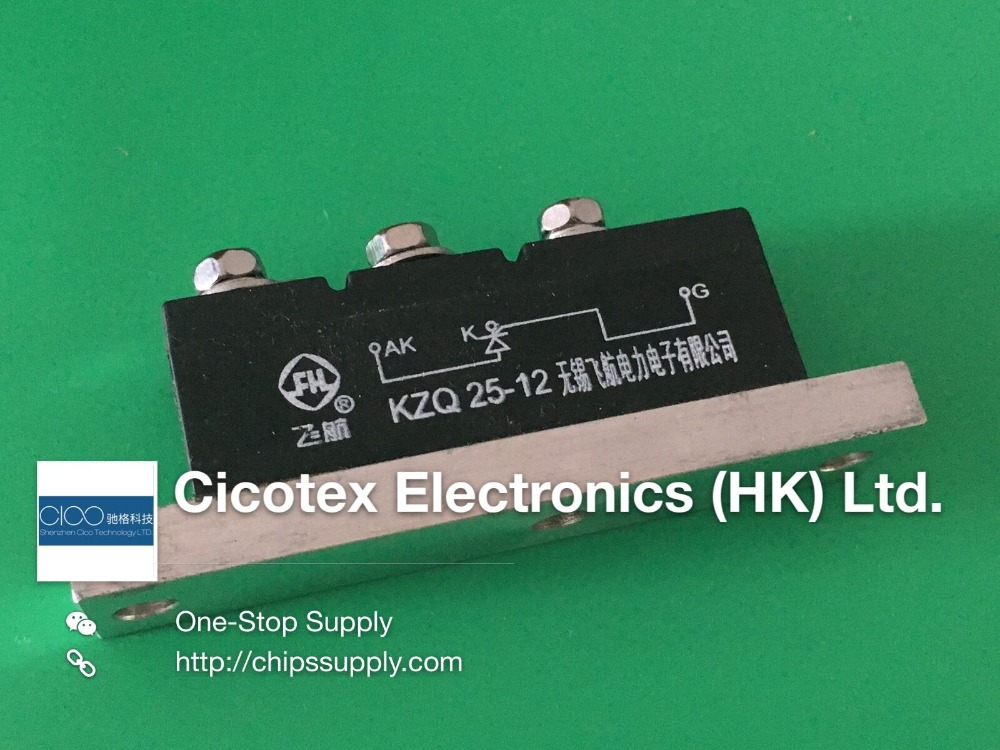 KZQ25 12 KZQ 25 12 THYRISTOR MODULE SPECIAL FOR GENERATOR 25A 1200V Diode Module