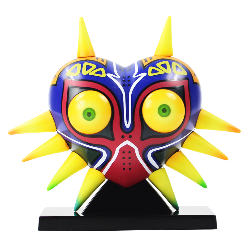 12cm The Legend of Zelda Majoras Mask With LED Light Decoration Table Lamp PVC Action Figure Collectible Model Toys12cm The Legend of Zelda Majoras Mask With LED Light Decoration Table Lamp PVC Action Figure Collectible Model Toys