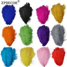 12-14 дюймов 30-35 см Frist-grade страусиные перья для украшение ручной работы изготовление