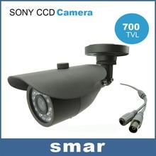 CCTV CCD Effio 700TVL Водонепроницаемый Открытый Пуля Камеры Видеонаблюдения, День и Ночь, 24 Инфракрасный СВЕТОДИОД Главная Безопасность Бесплатная Доставка