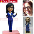Персонализированные фигурки головы поплавок комод на заказ поплавок кукла от картинки до статуэтки пользовательские модные куклы от Turui ст...
