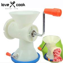 Manual Meat Grinder Mini Multipurpose Juicer Hand Held Meat Chopper Household Wringer Soybean Milk Machine Kitchen Appliance