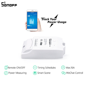 Image 2 - Sonoff Pow Smart Wifi Switch Controller With Real Time Power Consumption Measurement 15A/3500w Smart Home Device Via Android IOS