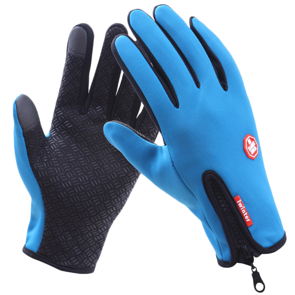 Mens leather gloves rei - Cycling Gloves Thermal Windproof Sports Touch Screen Gloves Racing Riding Bike Bicycle Motorcycle Skiing Hiking Gloves
