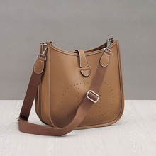 Fashion 100% Genuine Leather Shoulder Bag High Quality Cowhide Women Messenger Bags Luxury Bucket Soft Handbags Bolsas Feminina недорого