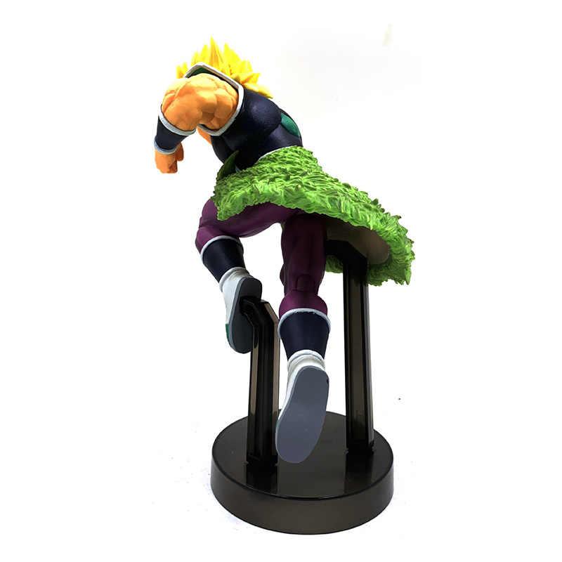 21 cm Film Dragon Ball Z Super Broli Goud Super Saiyan Broly Ver. PVC Action Figure DBZ Vegeta Vechten Model Speelgoed