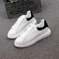 Spring New Designer Wedges White Shoes Female Platform Sneakers Women Tenis Feminino Casual FemaleShoes Woman35 44size