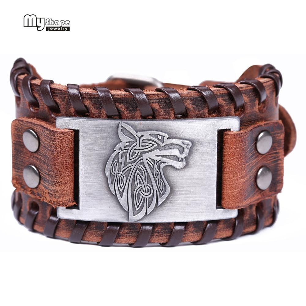 Bangle Viking Wolf Bracelet Men
