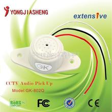 10pcs Free Shipping MIni CCTV sound monitor system surveillance monitor Sound Monitor pick up