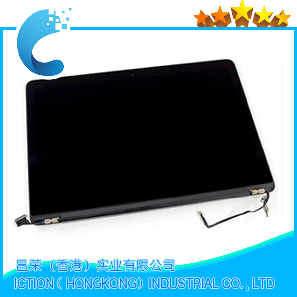 A1398 High Quality 98%new LCD Screen Display Assembly For Macbook Pro Retina 15 A1398 MC975 MC976 2012 year Shipping Via DHL