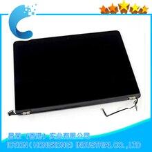 A1398 Wysokiej Jakości 98% nowy Ekran LCD Montaż Dla Macbook Pro Retina 15 A1398 MC975 MC976 2012 rok Wysyłki Za Pośrednictwem DHL