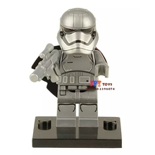 Single Sale star wars superhero Captain Phasma building blocks model bricks toys for children brinquedos menino
