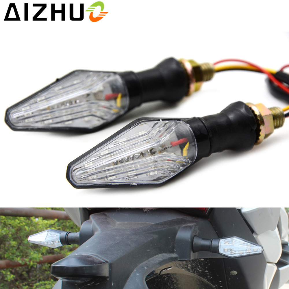 Motorcycle Turn Signal Light 12V LED Lamp Blinker For KTM 125 200 390 Duke RC125 BMW F700GS F800GF R1150GS K1200R