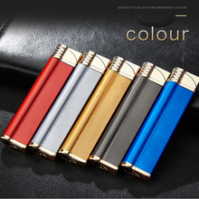 2019 New Turbo Lighter gas Metal Lighters Electronic  Butane Cigar Cigarette smoking accessories