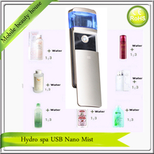 Hydro Spa USB Rechargeable Mini Handheld Nano Spray Handy Mist Face Steamer