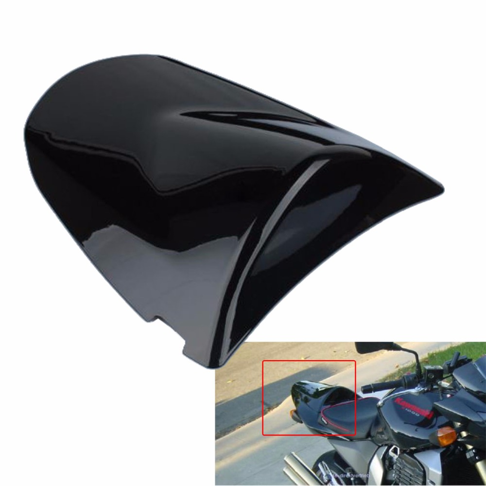 Motorcycle Rear Passager Seat Cover Cowl For Kawasaki ZX6R ZX-6R 2003 2004 ZX 6R 03 04 Z1000 Z750 2003 2004 2005 2006 03 04 05 for 2009 2014 kawasaki zx6r zx 6r 636 motorcycle rear passenger seat cover cowl green black 09 10 11 12 13 14