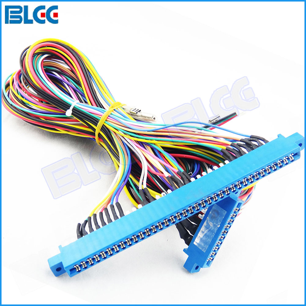 medium resolution of 1pcs 10pin 36pin jamma harness wire for arcade game red board casino mega games machine accessory in coin operated games from sports entertainment on