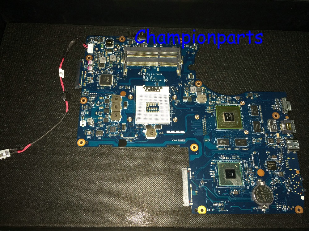 WORKING + NEW ! FREE SHIPPING Laptop motherboard PBL80 LA-7441P REV : 2.0 N12P-GS-A1 GT 540M for ASUS K93SV K93S Notebook PC