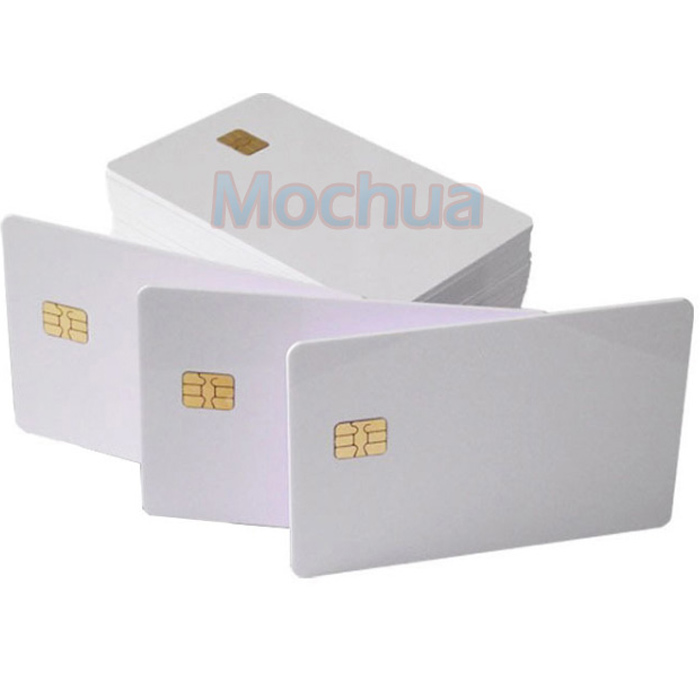 Contact SLE4442 Chip ISO7816 PVC Smart IC Card -10pcs