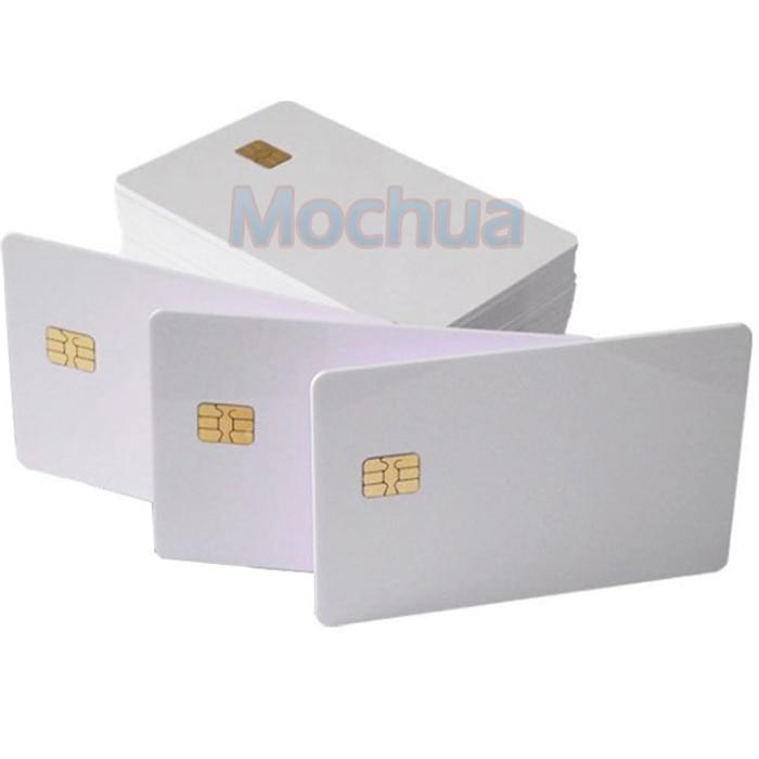 Contact SLE4442 Chip ISO7816 PVC Smart IC Card -10pcs