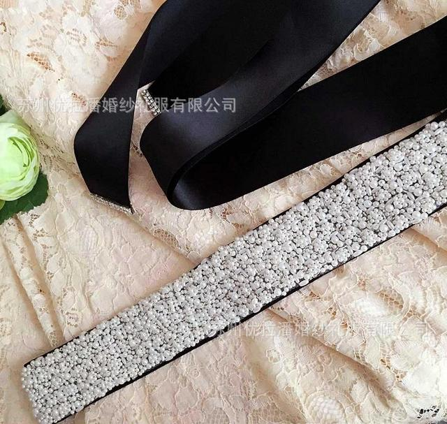 2016 the bride wedding Pearl Belt elegant the bride belts high quality handmade beaded bride belt