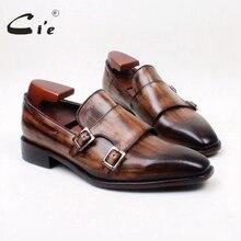 Cie/коричневые лоферы с двойными ремешками из кожи с натуральным лицевым покрытием; мужские слипоны ручной работы; No. loafer; ; коллекция 153 года