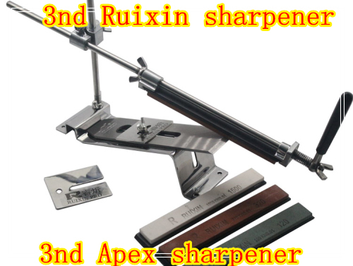 Ruixin Knife Apex Pro sharpener sharpening system 4 whetstone Outer Door grinder machine