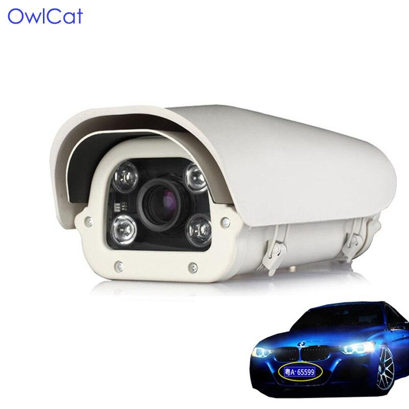 все цены на OwlCat SONY HD 2.0MP 1920*1080p Vehicle Number Plate Recognition AHD CCTV Camera License Plate Capture LPR Camera онлайн
