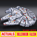 Lepin 05007 Star Wars Millennium Falcon   Assembling building blocks marvel  toy Compatible with 10467