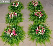 The new wedding ceremony road lead flower props simulation road lead flower head silk flower wedding big flower head road. history of the silk road