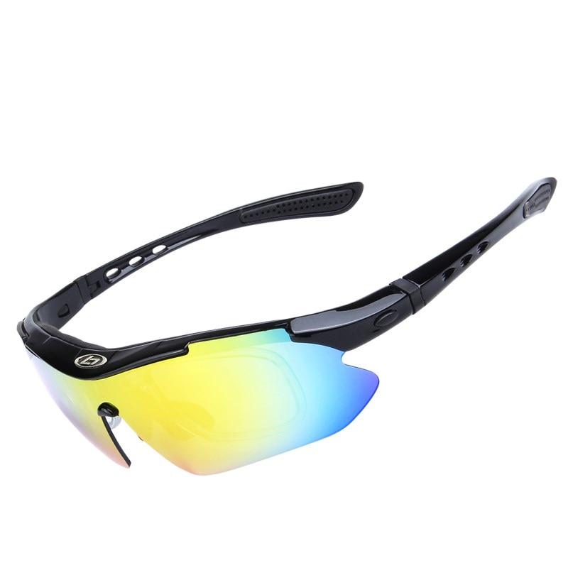 03ea5b3700 5 lente color de la lente UV400 TR90 deportes ciclismo gafas de las mujeres  de los