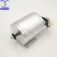 1600W BLDC Motor Brushless 48V Electric Motor 1600W Electric Mid Drive Motor For Electric Bicycle Scooter Kit Motors Accessories