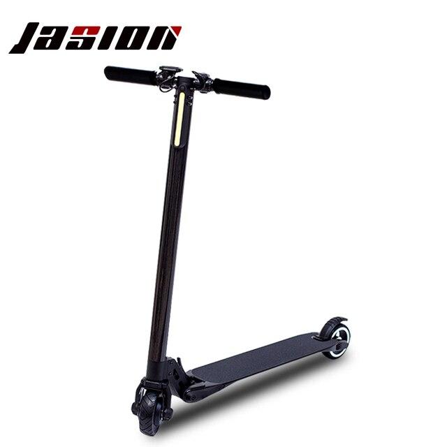 2017 leichteste kohlefaser leistungsstarke elektrische scooter elektrische skate erwachsene faltbare e-bike mini motor scooter kick scooter