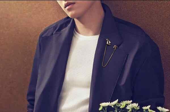 Pria bros pribadi jangkar Laut kemudi rumbai suit bros lanyard pin gesper bros aksesoris pria perhiasan elegan
