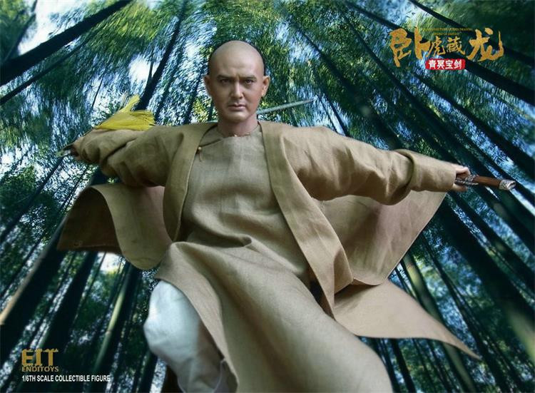 1/6 scale Ancient Martial arts figure Crouching Tiger Chow Yun Fat 12 Action figure doll Collectible Plastic Model Toys jrzj women s crouching tiger hidden dragon t shirt white