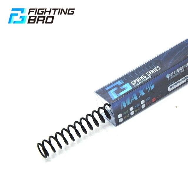 FightingBro Spring Airsoft 액세서리 풀 메탈 AEG M120/130/140/150/160/170For AK M4 기어 박스 스틸 페인트 볼 액세서리