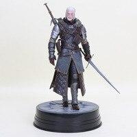 25cm The Witcher 3 Wild Hunt Geralt Figure Dark Horse Deluxe Geralt Of Rivia Eredin PVC Action Figure Collectible Model Doll Toy