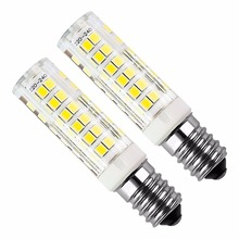 6pcs E14 5W LED Bulb 430lm 220V Cold White/Warm White 6000K /3000k Hood Replacement Has Non-dimmable Halogen 75 2835smd lamp led