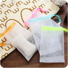 20pcs Soap Mesh Foaming Net Bubble Bag Skin Clean Blister Bath & Shower Cleaning Gloves