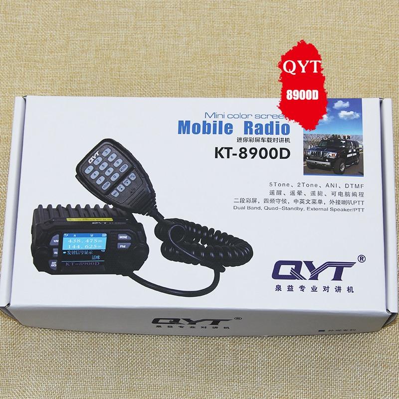 QYT-KT8900D μίνι αυτοκίνητο Ταϊβάν - Φορητό ραδιοτηλέφωνο - Φωτογραφία 6