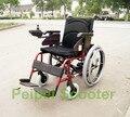 8 pulgadas 22 pulgadas de alta calidad plegable silla de ruedas eléctrica (PPSE-1)