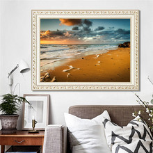1 PC Diamond Painting Not Finished Without Frame Diamond+Canvas 30*40cm With Shining Light Popular DIY Decorations(China)